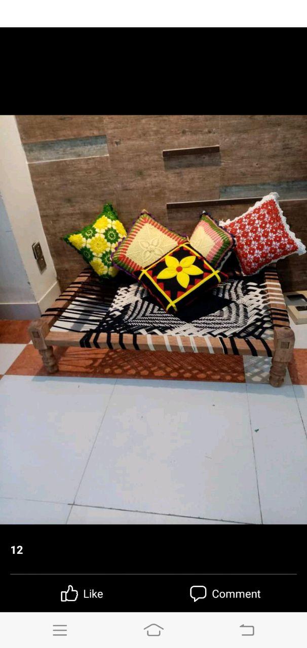 লাইলন দড়ি দিয়ে তৈরি খাটলা। (গ্রাম্য ভাষা)।, শিবগঞ্জ