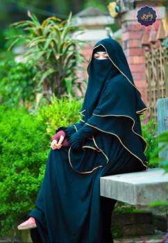 Esha Hijab with Niqab